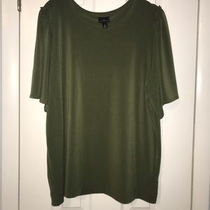 Blouse XL army green